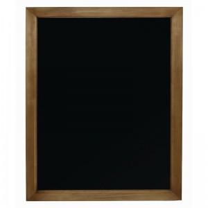 Pizarra de pared de marco de madera 600x 800mm Olympia gg107