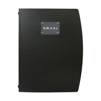 Portamenus Securit® Rio A4 negro gl105