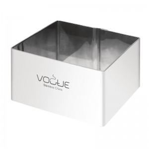 Moldes para mousse cuadrados 60 x 60 x 35mm Vogue cf164