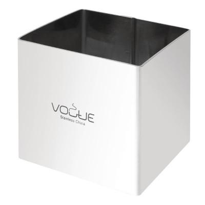 Moldes para mousse cuadrados 60 x 60 x 60mm Vogue cf165