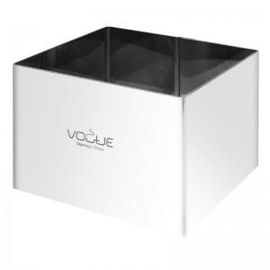 Moldes para mousse cuadrados 60 x 80 x 35mm Vogue cf167