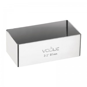 Molde para minipasteles rectangular Matfer e062