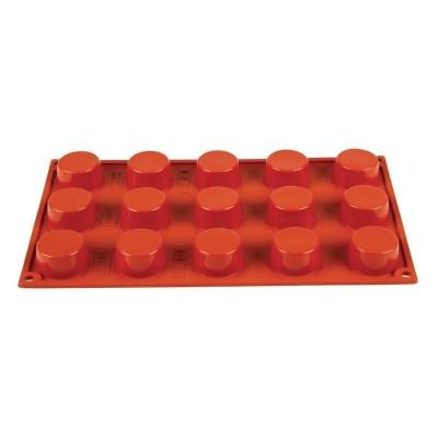 Molde petit four de silicona x15 Pavoni n945