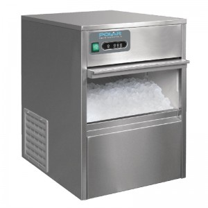 Maquina de hielo bajo mostrador 20kg de produccion Polar t316