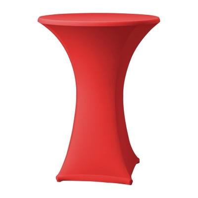 Funda extensible para mesa Samba D1 roja dk572