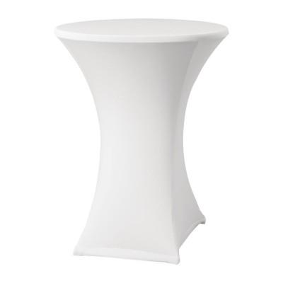 Funda extensible para mesa Samba D2 blanca dk577