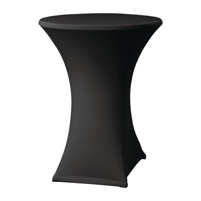 Funda extensible para mesa Samba D2 negra dk580
