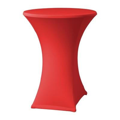 Funda extensible para mesa Samba D2 roja dk583