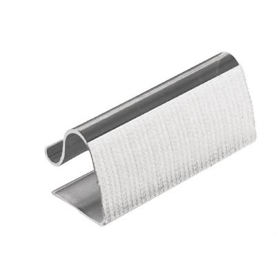 Clips con velcro para faldones de mesa 5-20mm. 10 ud. dk890