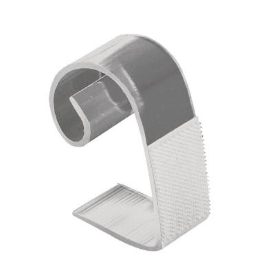 Clips con velcro para faldones de mesa 25-50mm. 10 ud. dk892
