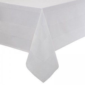 Mantel Mitre Luxury Satinband blanco 1370 x 2280mm gw421