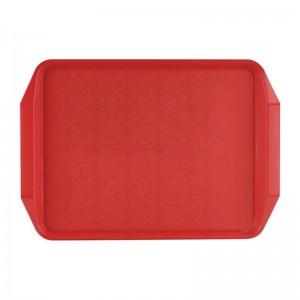 Bandeja con asas Roltex 435x305mm roja cw018