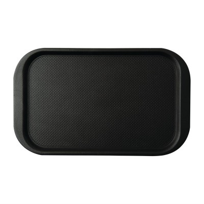 Bandeja Roltex Blackline 630x390mm antideslizante negra da775