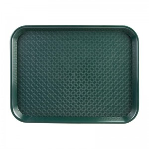 Bandeja verde 345 x 265mm Kristallon dp214