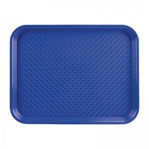 Bandeja azul 345 x 265mm Kristallon dp215