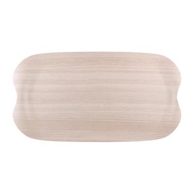 Bandeja servicio Roltex Wave 430x230mm madera clara ds021