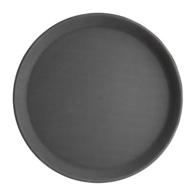 Bandeja redonda antideslizante 280mm Kristallon j845