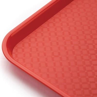 Bandeja Fast Food roja 305 x 415mm Kristallon p504