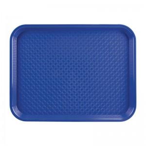 Bandeja Fast Food azul 350 x 450mm Kristallon p512