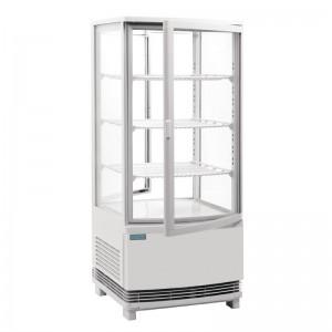 Refrigerador expositor puerta curva 86L Polar cb507