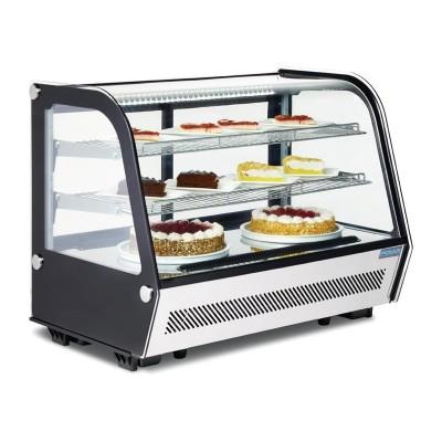 Enfriador expositor sobre mostrador refrigerado 160L Polar cd230