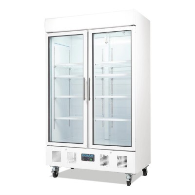 Refrigerador expositor puerta doble 944L Polar cd984