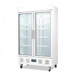 Refrigerador expositor puerta doble 944L Polar cd984