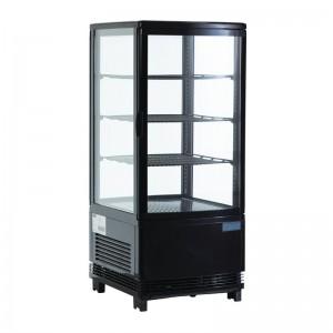 Expositor refrigerado negro 68L Polar g211