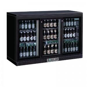 Enfriador expositor de bar puertas corredizas 273 botellas Polar cc605