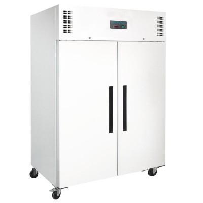 Refrigerador Gastronorm doble puerta blanco 1200L Polar cc663