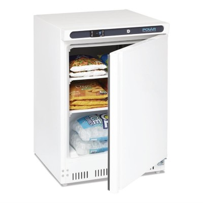 Congelador bajo mostrador Polar 140L cd611