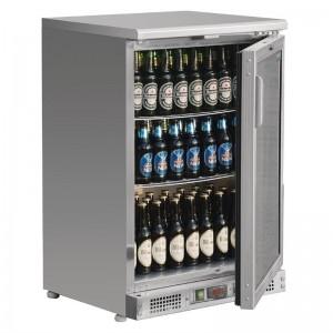 Enfriador expositor de bar acero inoxidable 104 botellas Polar ce205