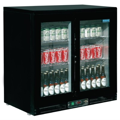 Enfriador expositor de bar 168 botellas Polar cf759