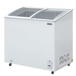 Arcon congelador Polar tapa vidrio 200Ltr R600a cm433