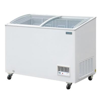 Arcon congelador Polar tapa vidrio 270Ltr R600a cm434