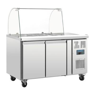 Mostrador frigorifico preparacion Polar GN 2 puertas con pantalla ct393