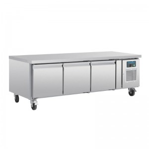 Mostrador refrigerado Polar GN Chef base 3 puertas da463