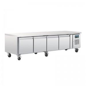 Mostrador refrigerado Polar GN Chef base 4 puertas da464