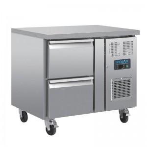 Mostrador frigorifico Polar GN 2 cajones da546