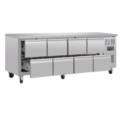 Mostrador frigorifico Polar GN 8 cajones da549
