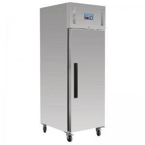 Congelador Polar una puerta Euronorm acero inoxidable 850Ltr gl181
