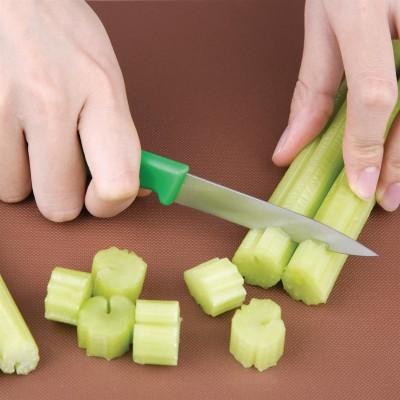 Cuchillo pelador verde 7.5cm Hygiplas c545
