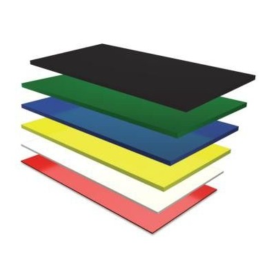 FIBRA POR PLANCHA 2020X1020 mm. COLOR