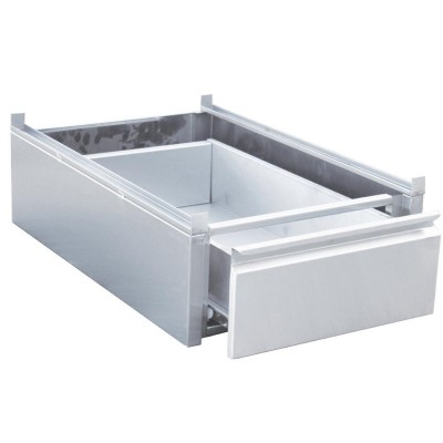 Cajon Gastro-M acero inoxidable para mesas de cocina gn143