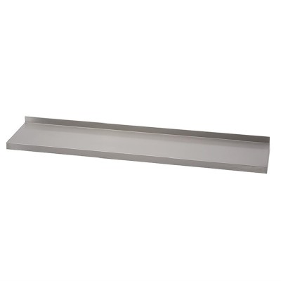Estante de pared Gastro-M acero inoxidable 1000x400mm sin soportes gn183