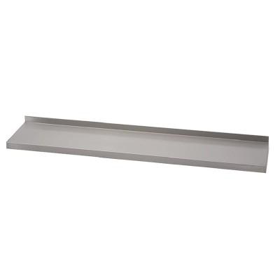 Estante de pared Gastro-M acero inoxidable 1400x400mm sin soportes gn185