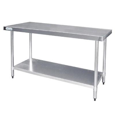 Mesa de trabajo de acero inoxidable Vogue 1800mm t378