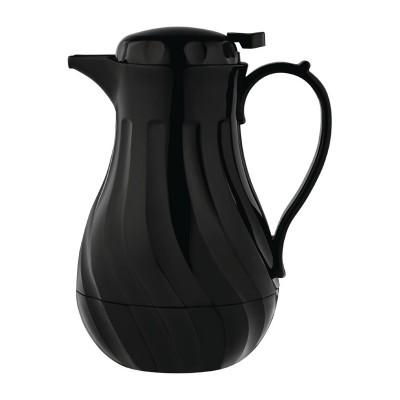 Jarra termo Olympia diseño negro en espiral-2Ltr gl970