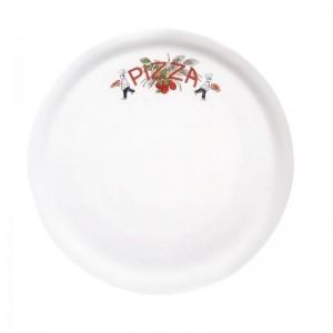 Plato para pizza de 31cm con decoracion 2470 dj955