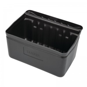 Cubeta de cuberteria Cambro para carritos de servicio ct373